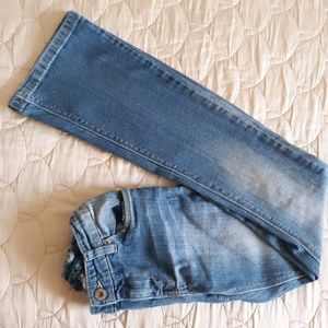 Levi's Skinny Flare Fit Girls Jeans Size 14
